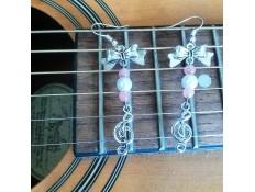 boucles d'oreilles Plaisir de chanter