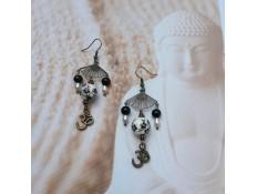Boucles d'oreilles Les perles de l'absolu