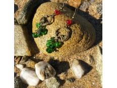 """Boucles d'oreilles inspirées par """"La Petite Sirène"""""""