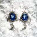 """Boucles d'oreilles """"La lune, la lady et l'ange"""""""