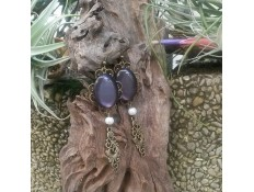 "Boucles d'oreilles ""What a Lady"""