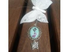 collier La Lady aux papillons