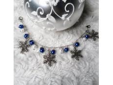 Bracelet Noel sous la neige