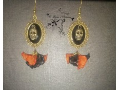 "Boucles d'oreilles ""This is Halloween"""