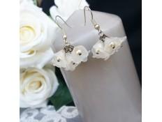 Boucles d'oreilles Le bouquet de la mariée