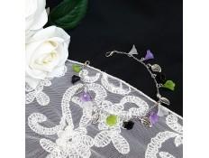 """Bracelet de cheville """"Des fleurs aux chevilles"""""""