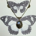 """Collier """"La Lady et le papillon"""""""