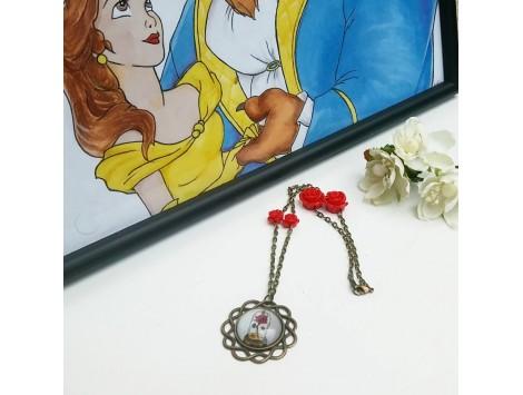"""Collier """"La rose de l'amour"""""""