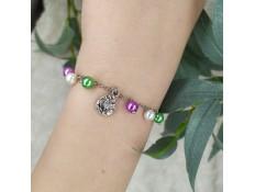 """Bracelet """"Le pays du lotus"""""""